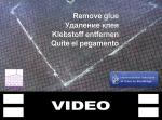 Удаление клея с коврового покрытия